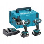 Makita DLX2145TJ LXT 18V Li-Ion 2 Piece Kit (2 x 5 Ah Batteries)